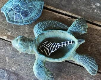 Cast Iron Turtle Etsy
