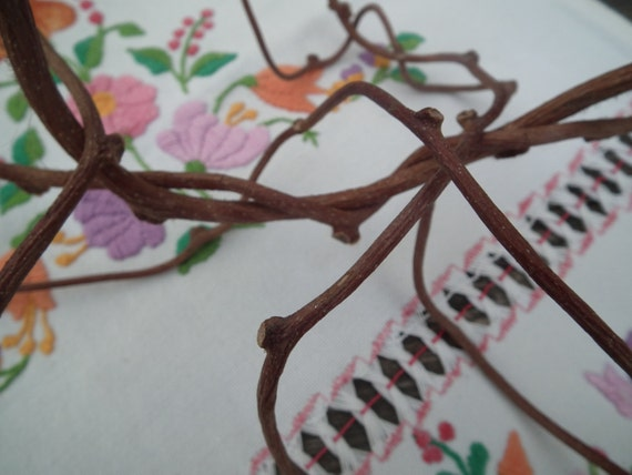 Beautiful long twisted curly craft sticks natural for A decoration that is twisted intertwined or curled