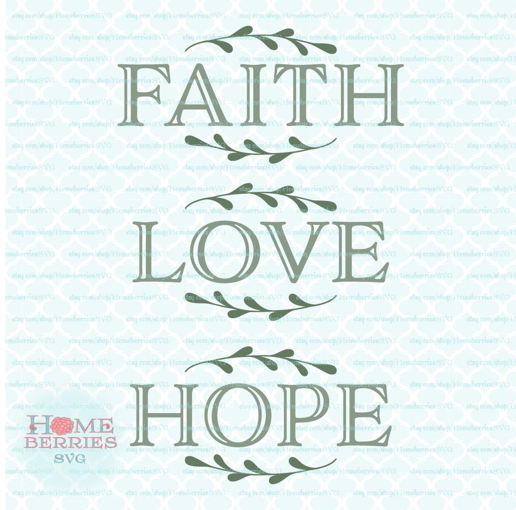 Download Faith Hope Love Bundle Christian Religious Sign Ideas svg dxf