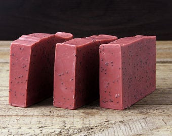 Pink Grapefruit & Australian Clay Soap / Vegan / Palm Oil Free / Handmade in Australia