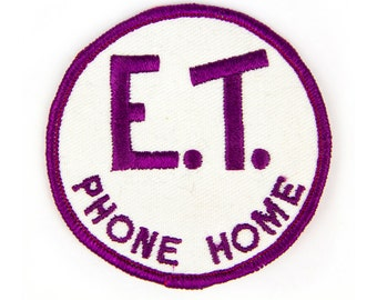 E.T Phone Home Patch