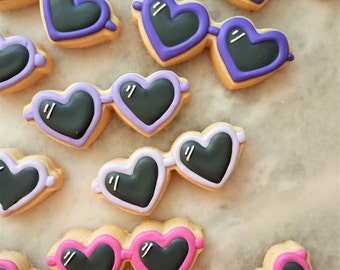 Heart Shades Cookies
