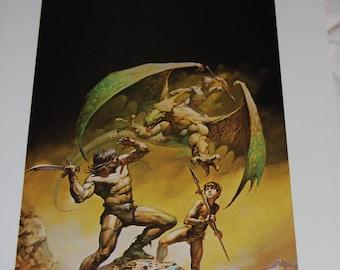 Boris Vallejo Print - Conan of Aquilonia - 1977