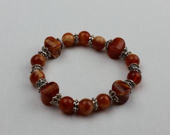 Earth Brown Bead Bracelet