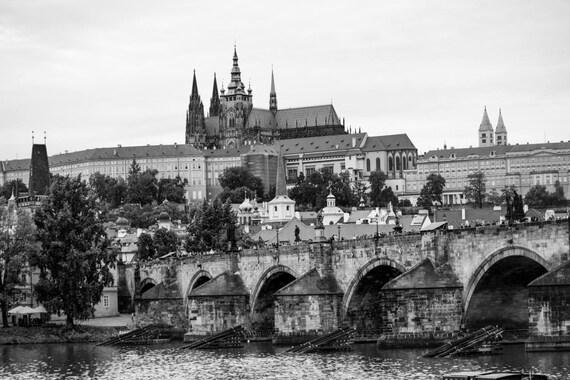 Prague Photography, Prague Wall Decor, Czech Republic, Gothic Prague, Prague  prague prints, europe prints, Prague Castle,Prague Cathedral