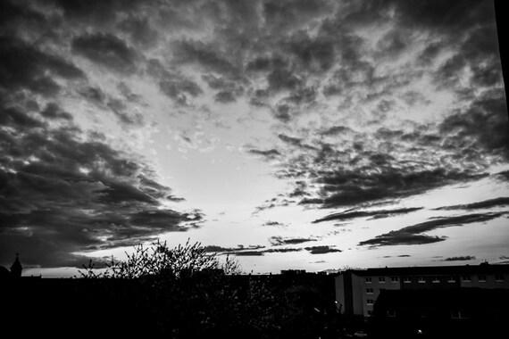 Skyline Photography, Glasgow Skyline, Glasgow Sunset, Glasgow Scotland, Scottish Sunset, Scottish Prints, Fine Art Photography, Wall Art