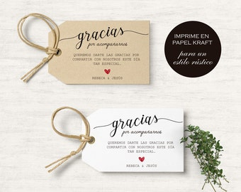 Printable wedding labels for guests