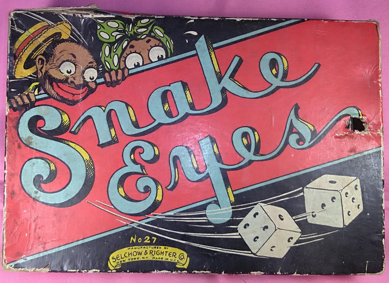 Snake Eyes Card Game
