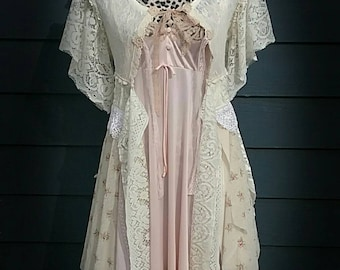 Was 99.00 now 69.00~~~~~~ Flouncy tattered bohemian robe