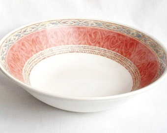 Churchill Zarand serving bowl - Ports of Call - 9 1/4 inches