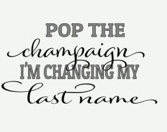 Special Request - Pop the champaign