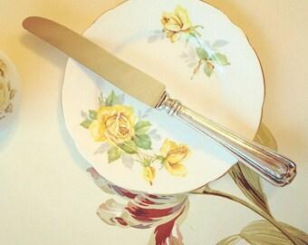 Vintage Knife, Large Vintage Kitchen Dining Knife, Heavy Kitchen Knife.
