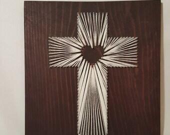 String Art- Cross