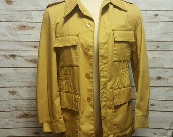 Vintage, 1960's Mens Casualcraft field jacket, Mens L
