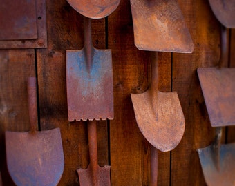 Antique Shovels - Mining Equipment