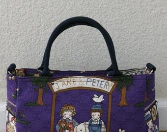 cotton handbag and shoulder bag