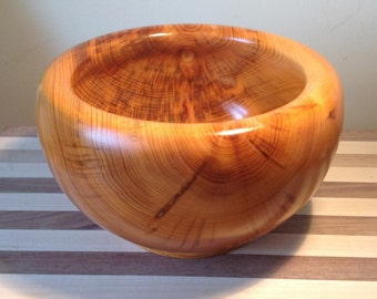 English Yew Bowl