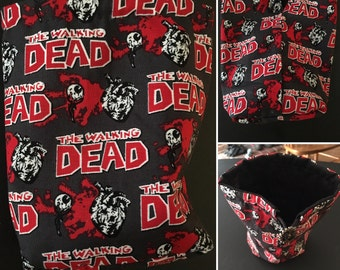 The Walking Dead Dice Bag, drawstring bag, coin purse, zombies