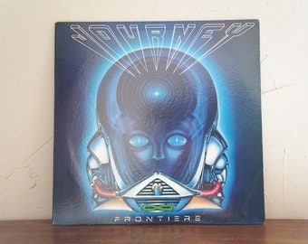 1983 Journey Frontiers LP Record 1980s Vintage