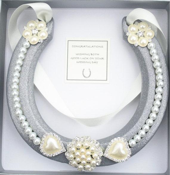 Lucky Wedding Gifts: Wedding Good Luck Real Horseshoe Bridal Wedding Gift
