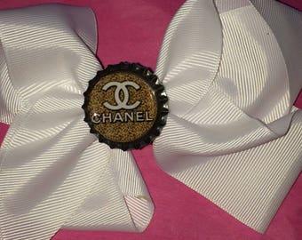 Coco Chanel hair bow