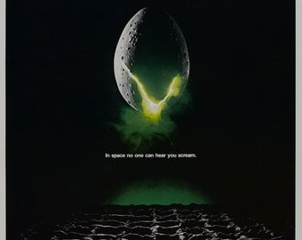 Alien movie poster 11x17