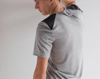Men's T-shirt with a unique print.