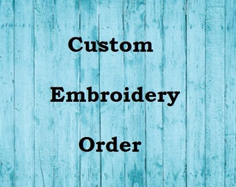 rootzyleg - Custom Embroidery Order