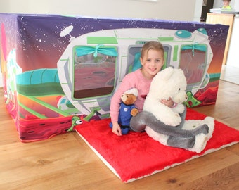 Moon Base Space Station Table Play Den Play House Kids Play Tent - Your child will love this!