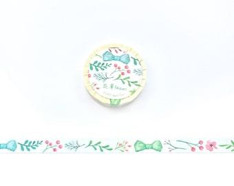 Flower paper tape