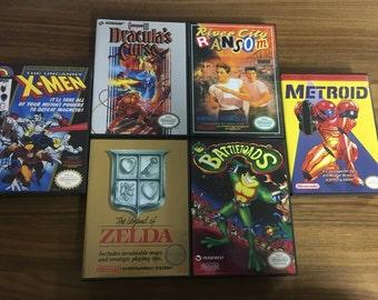 Nintendo Entertainment System Game Case