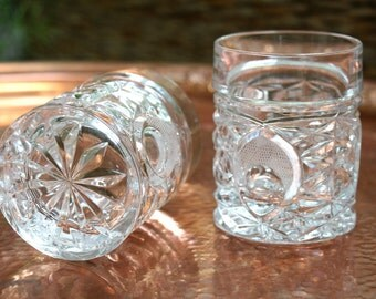 Vintage Pressed Glasses