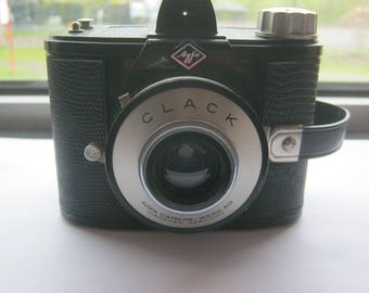 Boxcamera Agfa Clack, one of the first Volkskammeras in Germany, very good condition, CA. 1940 -50, Rollfilm