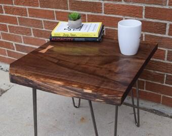 Live Edge Walnut Coffee/End Table