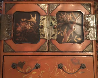 Asian Toy Dresser or Jewelry Box