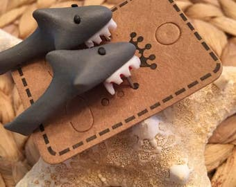 Shark Earrings,Novelty, Jaws