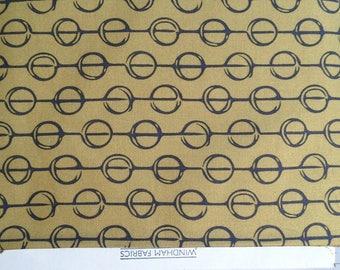 Furrows -  Saddle Tan -  Hand Maker Fabrics by Natalie Barnes for Windham Fabrics