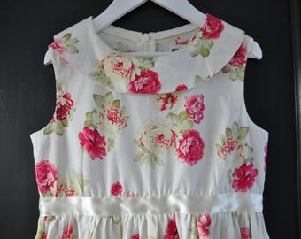 Vintage style girls dress. Size EU 134/140, USA 9/10, 8-10 year FREE shipping!