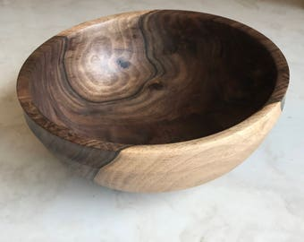 Walnut Wood Bowl Medium