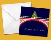 Archway Bridge Christmas Card – FREE UK postage