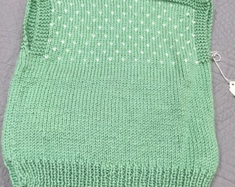 Girls Sweater Vest Size 6-8