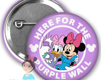 Purple Wall Inspired Park Button