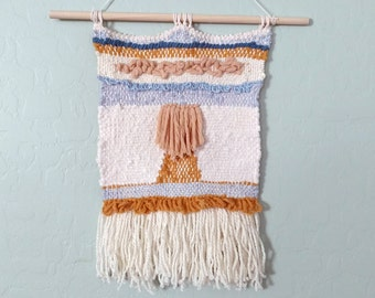 Fiber Wall Hanging - Woven Tapestry - Woven Wall Hanging - Wall Weaving - Tapestry Weaving