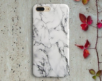 White marble Samsung Galaxy S7 case Samsung Galaxy S6 case Samsung Galaxy S7 S6 Samsung Galaxy S7 S6 marble cover iPhone 6 6s 6 Plus  5 case