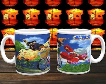 Anime Mug 'Inuyasha' Coffee Mug, Coffee Cup, Ceramic Mug