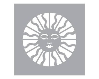 American Decor stencils, Celestial Sun code: NM-ADS6X6-102-K