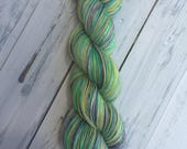 Mardi Gras - Fingering Sock with Stellina Hand Dyed Yarn