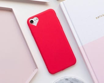 Red Heart iPhone 7 Case iPhone 6 Case iPhone 8 Case Phone 7 Plus Case iPhone 8 Plus Case iPhone Case iPhone 6s Case iPhone SE iPhone 5s Case