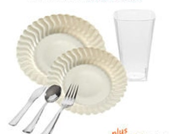 Flaired Ivory VALUE Party Package for 10 guests