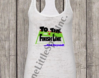 to the finish line and beyond tank  run disney  disney running tank toy story running tank  buzz lightyear running tank pixar running tank